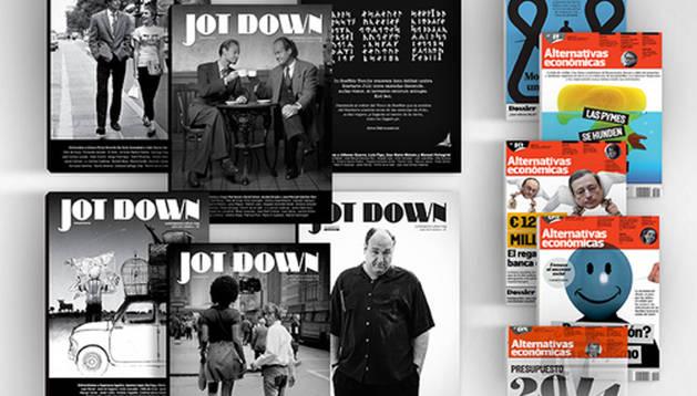 Ejemplares de la revista Jot Down.