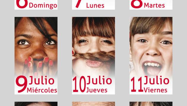 Pantallazo de la aplicación 'San Fermín Pamplona'.