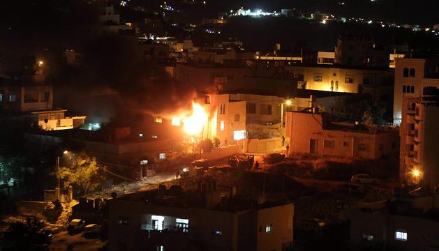 El objetivo de los bombardeos fueron instalaciones militares de Hamas y de la Yihad Islámica.