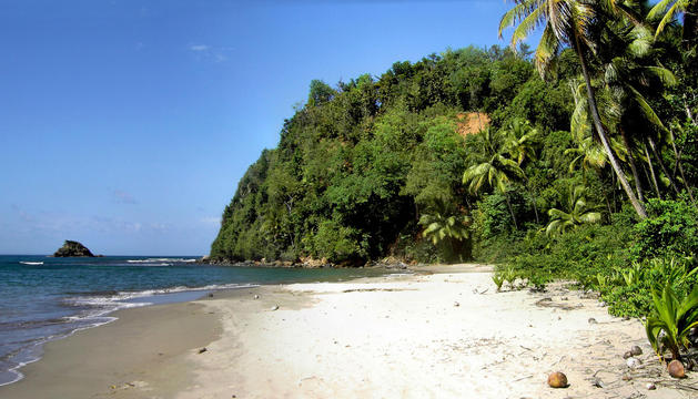 Playa de Hampstead, en Dominica
