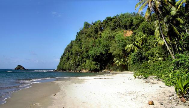 Playa de Hampstead, en Dominica