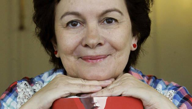 La escritora Clara Sánchez, ganadora del Premio Planeta 2013