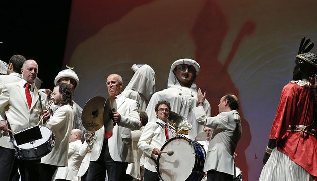 Un momento de la actuación de La Pamplonesa.