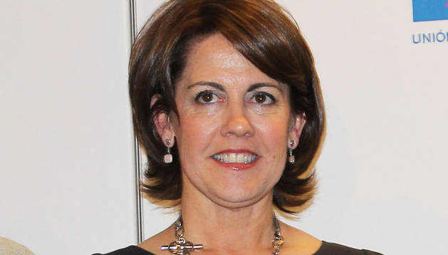 Yolanda Barcina, presidenta del Ejecutivo foral