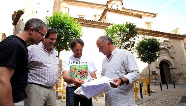 De izda a dcha, Mikel Ziordia, Luis Segura, Juanjo Bienes y Jesús Alava.