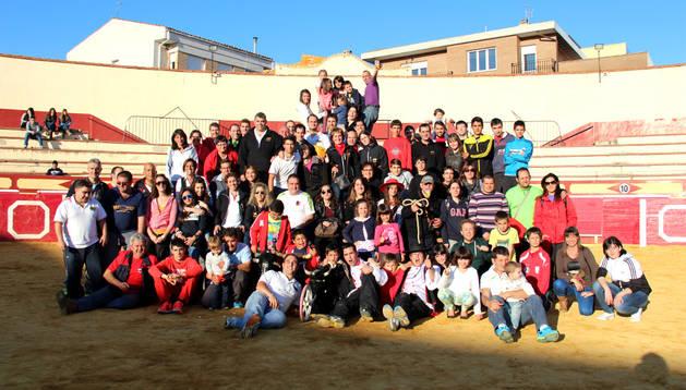 Una delegación de 150 personas, la mayoría socios de la peña, se traslada este fin de semana a Benavente