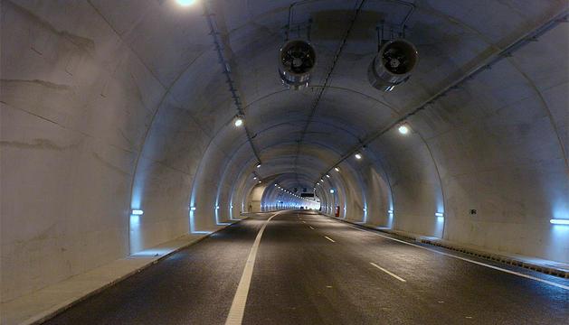 Túnel de Almandoz.