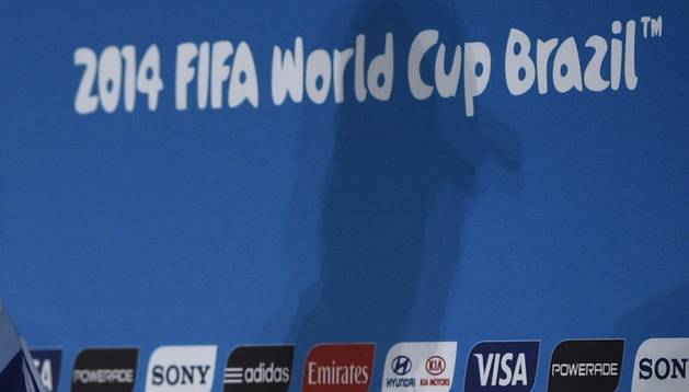 Imagen de los patrocinadores oficiales del Mundial de Brasil 2014