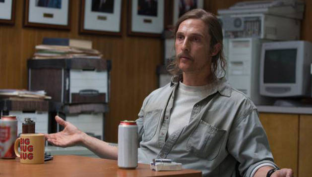 Matthew McConaughey en True Detective.