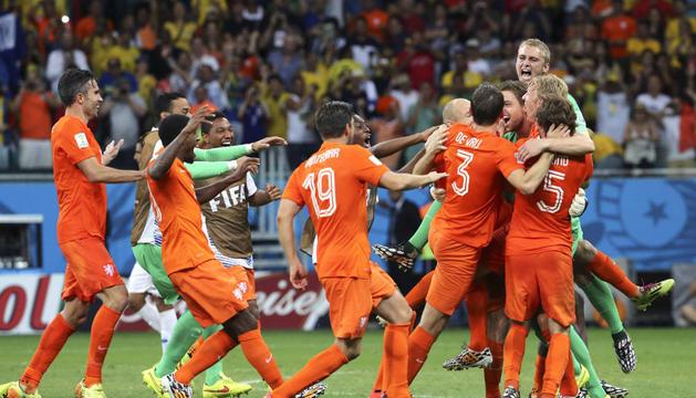 Holanda es una de las cuatro semifinalistas