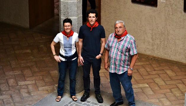 Urra, Zabalza y Sarasíbar, en el Condestable