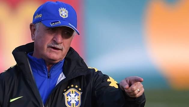 Scolari, seleccionador de Brasil