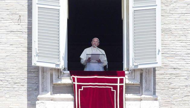 El Papa en la basílica de San Pedro