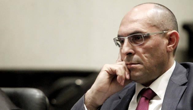 El juez Elpidio Silva, en el juicio