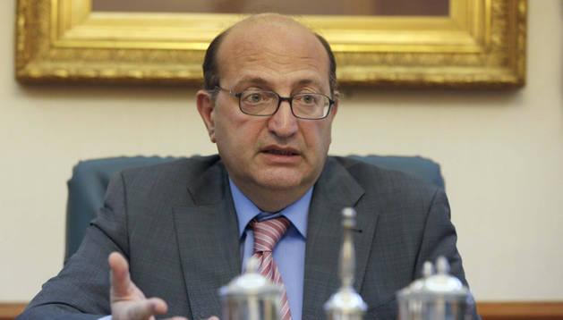 Ramón Alvarez de Miranda, presidente del Tribunal de Cuentas