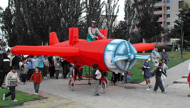 Imagen de uno de los aviones que aterrizarán en Carlos III