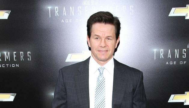 Mark Walhberg durante el estreno de la película en Nueva York