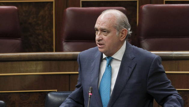 El ministro del Interior, Jorge Fernández Díaz.