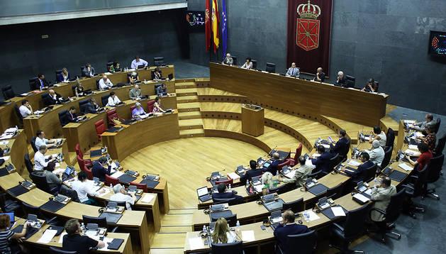 Los parlamentarios, en la sesión plenaria que la Cámara celebró en agosto del año pasado, para abordar un cambio legal sobre los EREs en empresas públicas