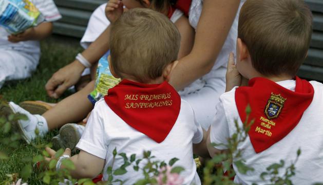 Día del Niño en los Sanfermines de 2013