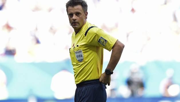 El italiano Rizzoli dirigirá la final entre Alemania y Argentina