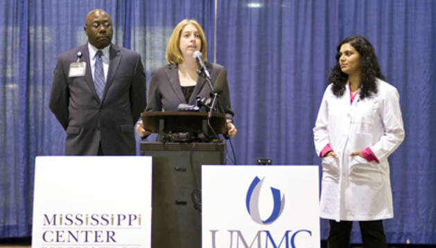 Imagen del University of Mississippi medical center