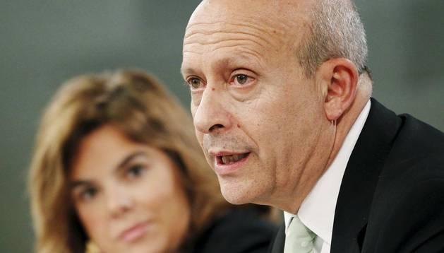 José María Wert, ministro de Educación.