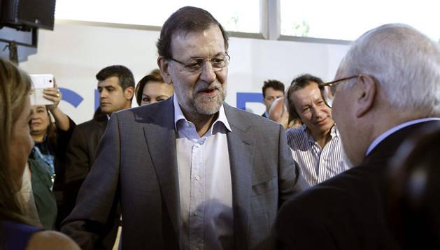 Mariano Rajoy en la escuela de verano del PP