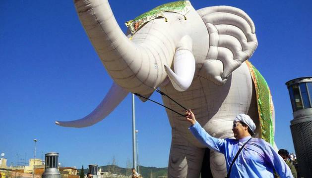 Un elefante de 10 metros ocupará la avenida Carlos III