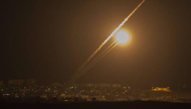 Un ataque nocturno en la franja de Gaza ocurrido durante este sábado