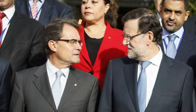 Mas y Rajoy hablarán cara a cara próximamente en una reunón.