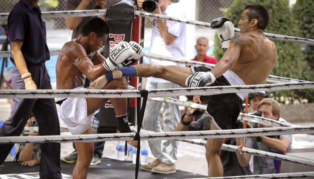 Un programa especial permite a reclusos reducir sus penas si participan en peleas reguladas de Muay Thai o boxeo