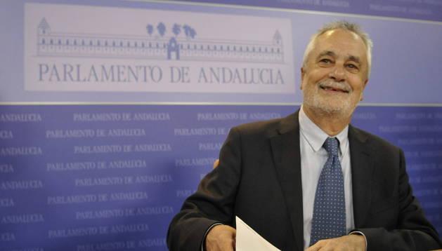 José Antonio Griñán, expresidente de la Junta de Andalucía