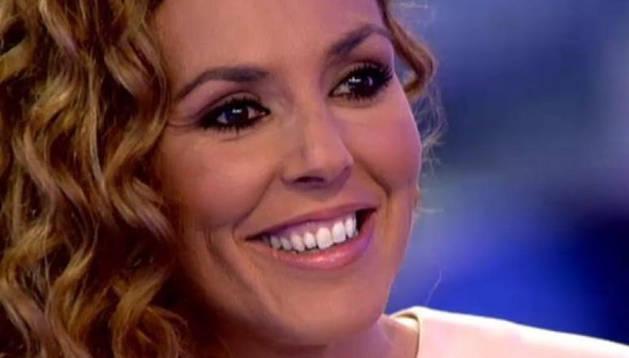 Rocío Carrasco durante su intervención en el programa 'Hay una cosa que te quiero decir'