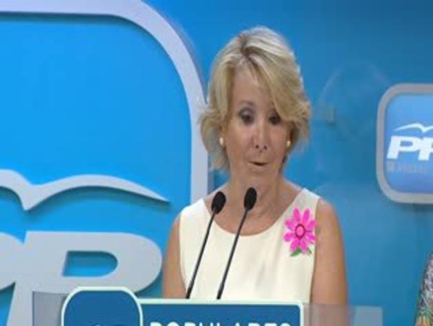 """Aguirre asegura que Podemos utiliza técnicas de propaganda de """"los genios de la maldad"""""""