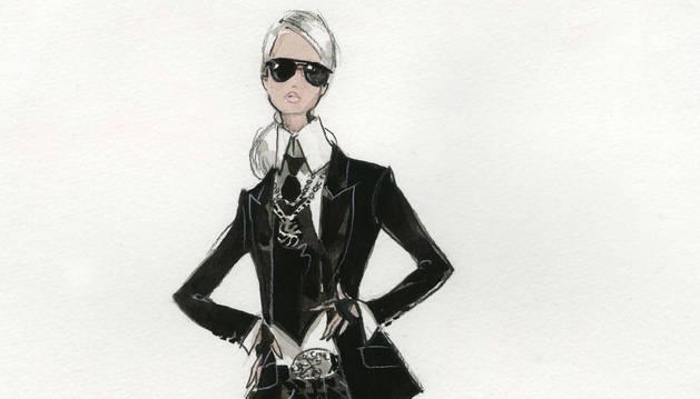 La futura 'Barbie Lagerfeld'