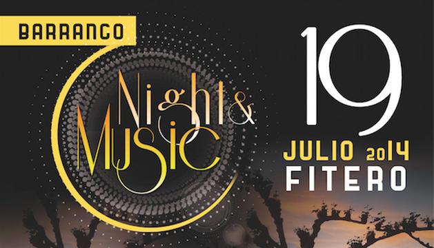Cartel del 'Night and Music' de Fitero