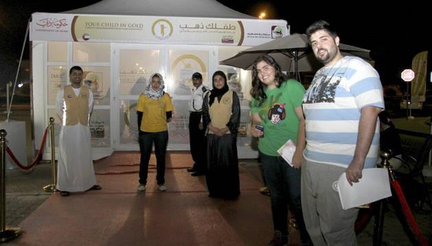 Participantes en la campaña contra la obesidad lanzada por el Gobierno del emirato de Dubái