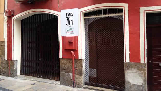 Exterior del nuevo local del comedor solidario París 365