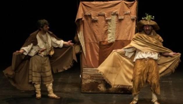 'Ñaque, o de piojos y actores' se representará este miércoles dentro del marco del Festival de Teatro de Olite.