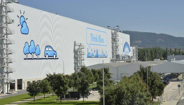 La planta de Volkswagen en el polígono de Landaben