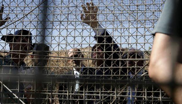 La nueva valla anti-trepa puede jugar un papel decisivo en la contención de asaltos de inmigrantes en Melilla.