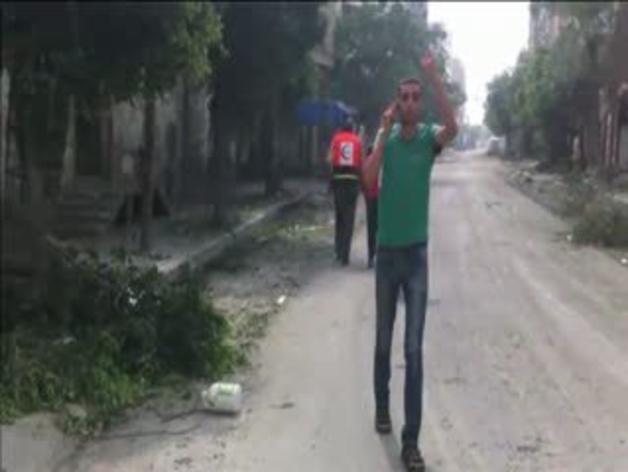 La muerte en directo en Gaza