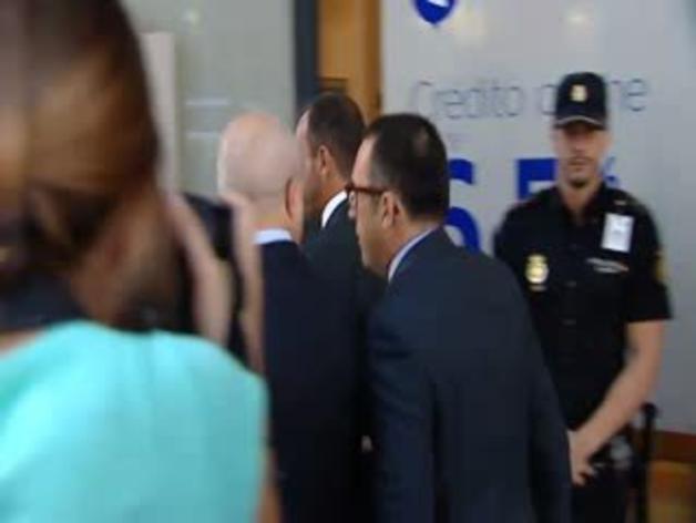 Sandro Rosell y Antoni Rossich declaran ante el juez