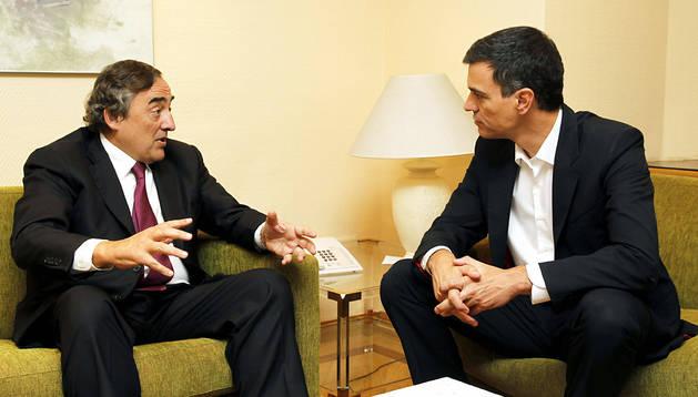 Pedro Sánchez se ha reunido con Juan Rosell