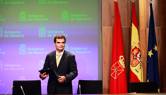 Garmendia, en la sala de prensa del Gobierno, en septiembre de 2011, cuando era director general.
