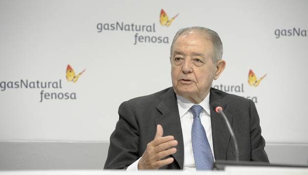 Salvador Gabarró, presidente de Gas Natural Fenosa.
