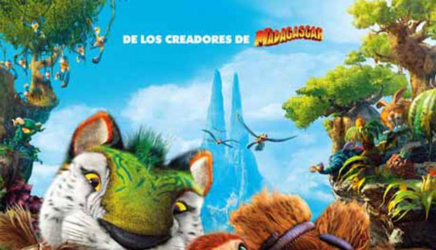 Cartel de 'Los Croods'