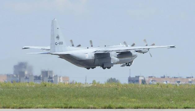 Policía científica y un avión Hércules del Ejército del Aire se unen al dispositivode identificación en Mali