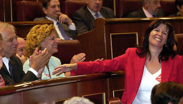 La socialista Micaela Navarro